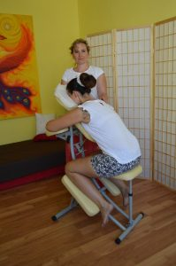 Anti-stress massage Saraca´s Essence Sun