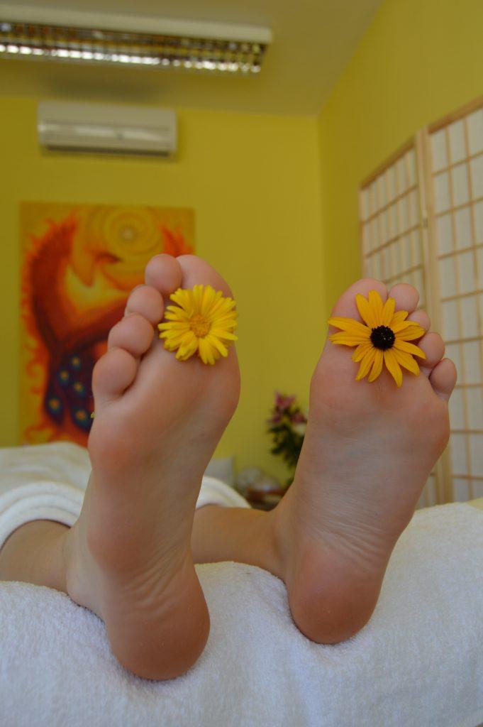 Reflexná masáž Saraca´s Essence Sun